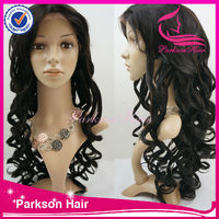 Lady Star Natural Long Platinum Black Unprocessed Virgin Hair Wigs In Manila
