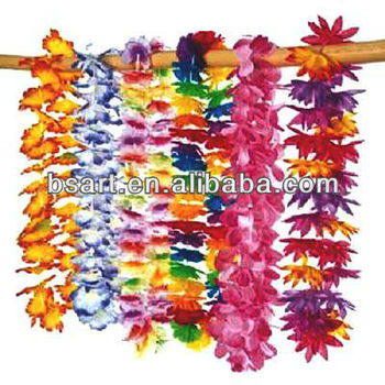 Hawaii flower lei necklace assorted