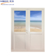 2018 New design luxury commercial used glass double entry doors