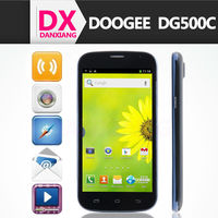 "New arriva Doogee DG500C phone MTK6582 quad core 1gb ram 4gb rom 5"" IPS screen andriod 4.2 13.0 MP 3G GPS WIFI Android"