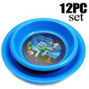 Most Professional Cheap 3D Lenticular Dinner Plastic Plate