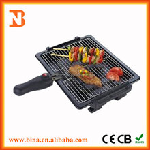 commercial bbq with trailer