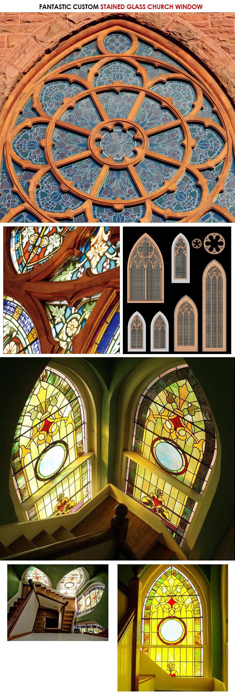 old church stained glass windows