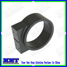 precision cnc milled parts of bearing hoursing with black oxide treatment