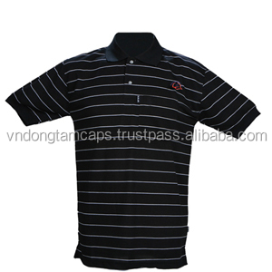 High quality Men Polo Shirt 100% cotton made in Vietnam