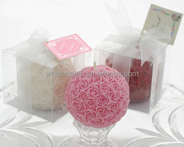 Small Rose Flower Ball DIY Crafts Mold Handmade Decorative Silicone Soap And Candle Molds