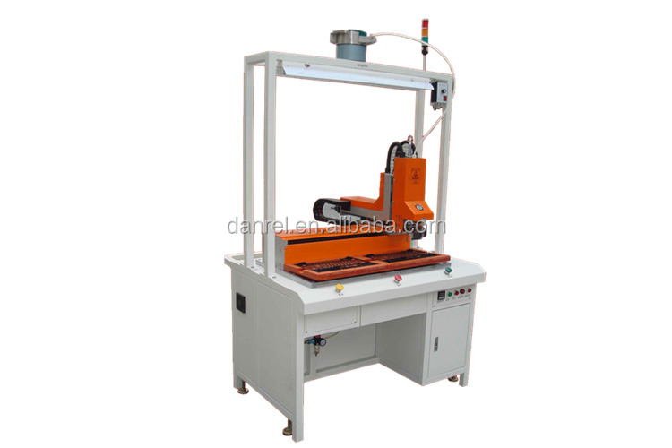 Factory Price Desktop Manual Operation Hot Staking Press Machine for Metal Nut Insert Trade Assurance DR-1010