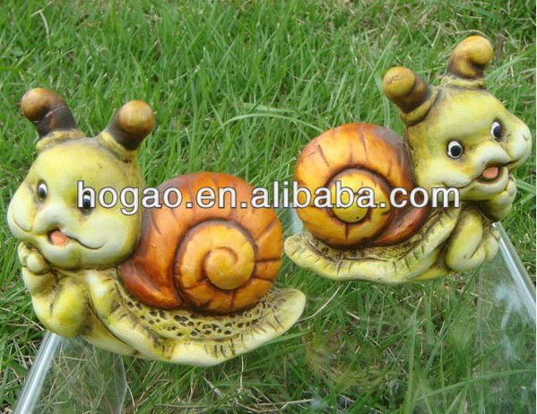 2012 Lastest design 3D garden resin statues