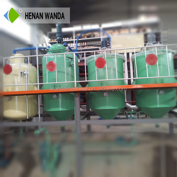 1-5TPD Semi-continuous chemical processing palm oil refining machine/cotton oil refining machine