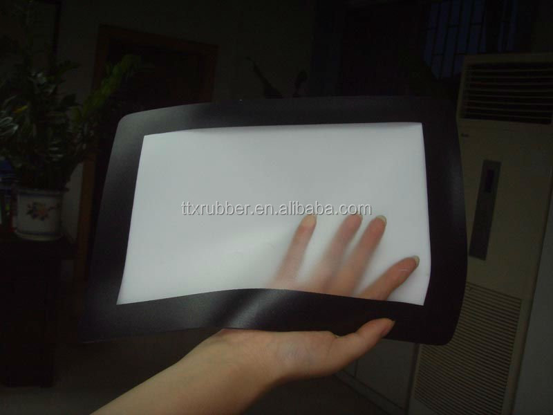 photo frame rubber mouse pad