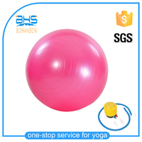 Eco Anti Burst PVC Inflatable Customized Yoga Ball Exercise Ball