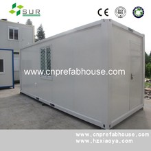 portable mobile steel frame prefabricated modular steel structure china flat pack homes