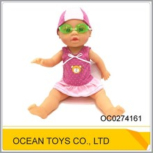 Lovely battery operated vinyl baby doll toy for kids OC0274161