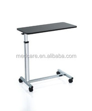 MTOB1 hospital adjustable height patient dining metal table