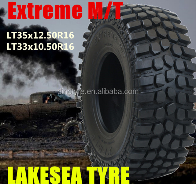 Open country MT off road 285/75 R16 265/75 R16 Lakesea mud tire 35 37 40