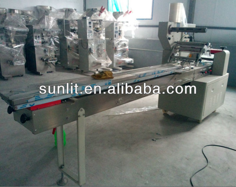 Wafer packaging machine/pillow packing machine