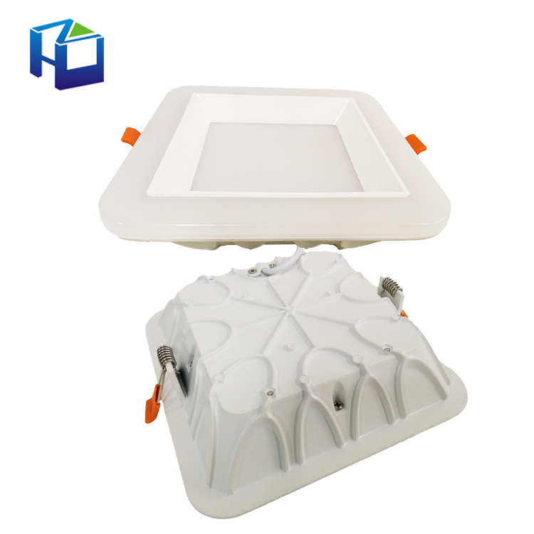 Aluminum Housing Ceiling Lamp Factory Price 18W 16W Emergency Kit Led Surface Panel Light For Kitchen