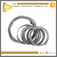 zinc coated steel overhead ground wire,steel strand ACSR Rook conductor with best price