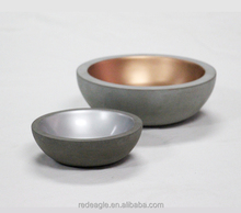 Luxury Pet Accessories Concrete Dog Dishes