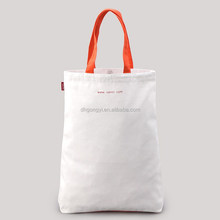 Factory supplier eco blank cotton canvas tote bags for wholesale