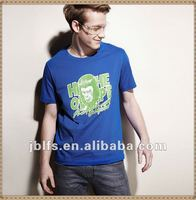 2012 summer popular The planet of Apes printed short sleeves branded t shirt for men