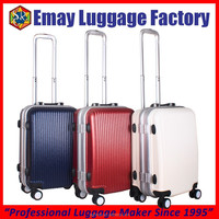 2016 Factory Aluminum Frame PC Trolley Luggage Case