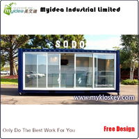Popular in Western ountries of convenient used office containers for sale, container sales in uae, container hotel design