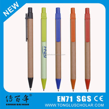 High Quality Recycled Paper Ball Pen