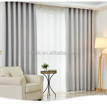 solid color fire retardant hotel curtain fabric blackout