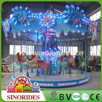2018 China New Kiddie Amusement Mini Machine Carousel Ride For Sale