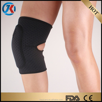 compression knee sleeve with neoprene waterproof for sport