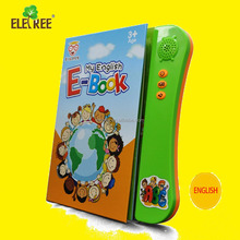 Eletree 2018 Best gift ebook learning kids talking books learn book speak english for child