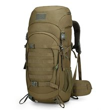 50 Liter Internal Frame Backpack Tactical Backpack Military Backpack Molle Bag with Rain Cover for Hunting Shooting Camping