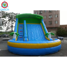 Inflatable toys for kids inside inflatable slide wet or dry inflatable outdoor waterslide JMQ-W207