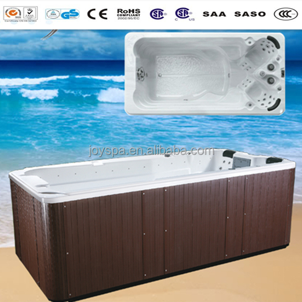 Distributors wanted Swim Spa hydrotherapy Dual Zone Swim Spa Pool JY8603