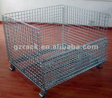 factory metal roll cage/selective mezzanine rack/wire shelving