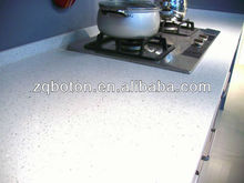 Sparkling White Engineered Quartz Stone for Kitchen Countertop