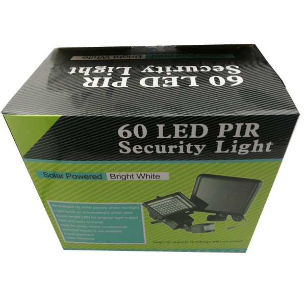 Pir motion sensor security floodlight lamp garden outdoor light 60 60ledg aloadofball Choice Image