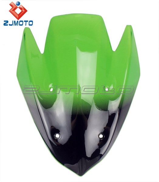 ZJMOTO Cool Green Windscreen/Windshield Suitable For Kawasaki 100% Guaranteed Brand New Hot Sale And Good Quality You Worth It