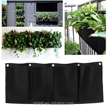 18 Pockets Wall Garden Hanging Planting Bags Vertical Outdoor Indoor Planter