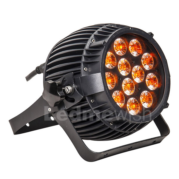 high power outdoor waterproof dmx RGBAWUV 12pcs 14w led par light