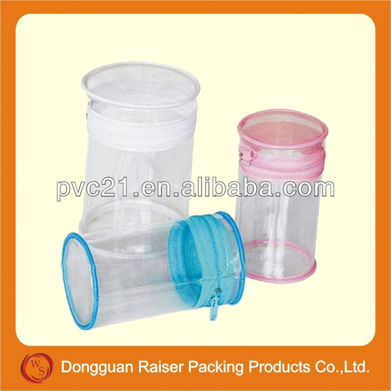 Promotional fashion clear plastic handbags