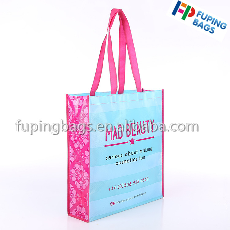 Non-woven Material and Handled Style laminated non woven bag