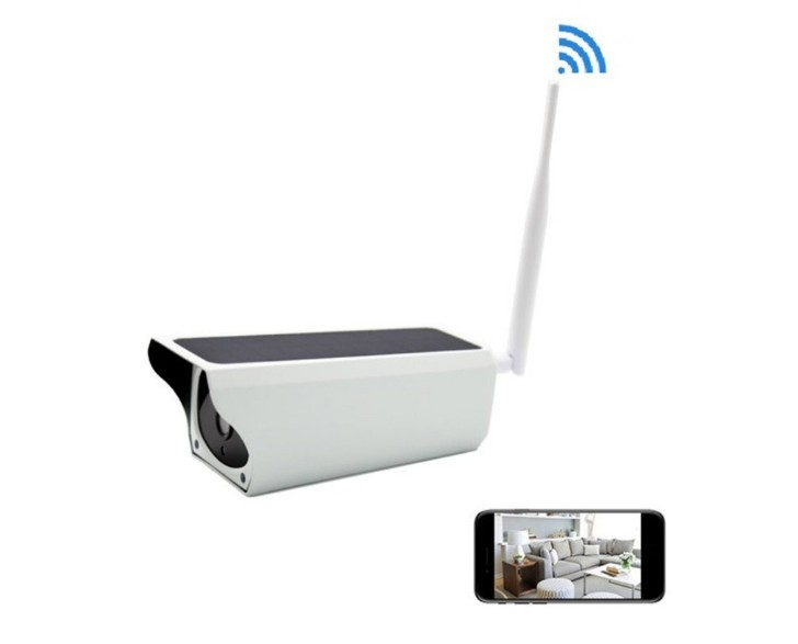 Solar power Operated 2MP 1080P Wireless Solar Security Camera with Sim Card Motion Detection