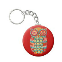 alien key fiat key chain in china laminated key chain