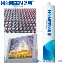 Silicone adhesive sealant flammable resistant electronic potting compound HM-315