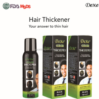 New branded DEXE hair grower,natural hair thickening spray for hair loss treatment