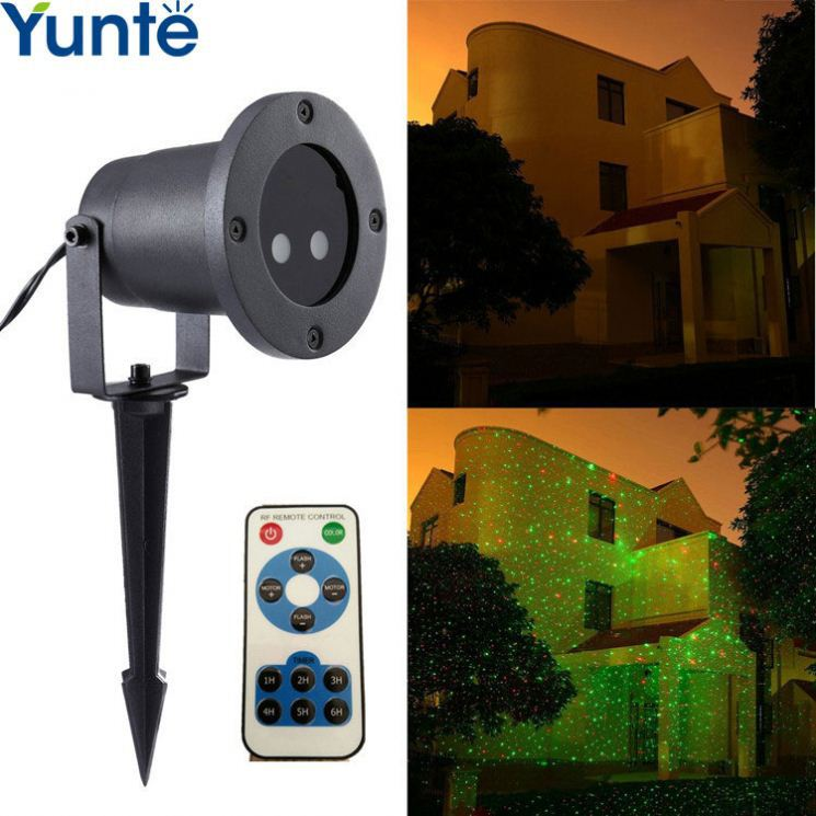 2017 mini red and green disco orange rgb high power building city laser light for garden yard hotel