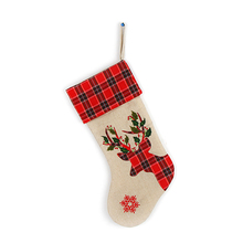 unique christmas decorating ideas counted cross stitch christmas stockings