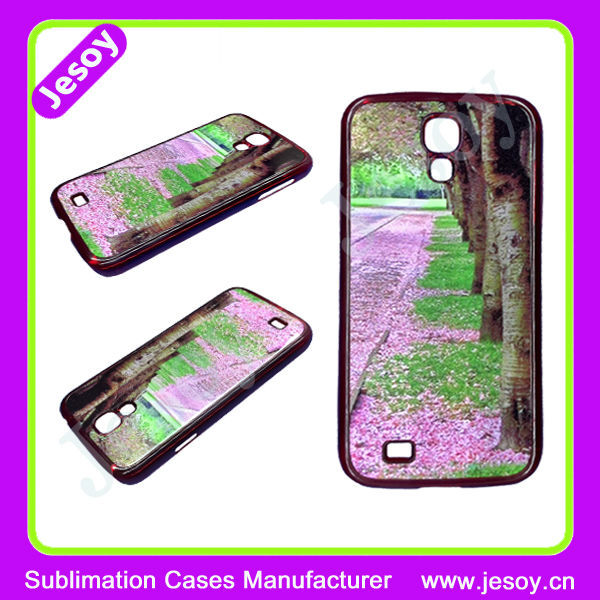 JESOY 2D Sublimation Heat Transfer Phone Case, Unbreakable Hard Case For Samsung Galaxy S4 Case